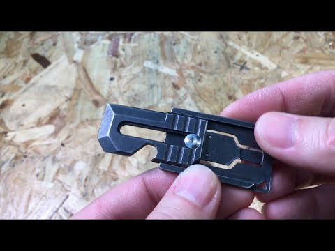 IPRee Stainless Steel Mini Keychain Tool EDC