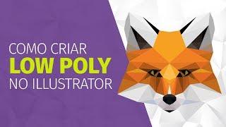 Como Criar LOW POLY ART No Illustrator