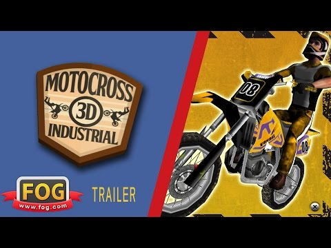 Video of 3D Motocross Bike: Industrial