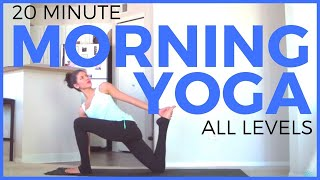 20 Minute Morning Yoga Routine | SarahBethYoga by SarahBethYoga