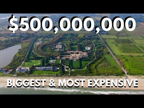 ➪ ➫ ➬ ➭ ➮ Най-голямото и най-скъпо имение в Америка - 500 000 000 (500 милиона долара)