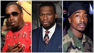 50 Cent Clowns Diddy Amidst Allegations that he Put a $1 Million Hit on Tupac. Diddy Denies it.