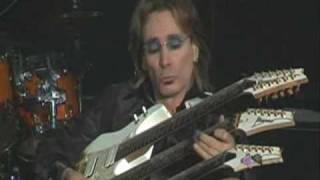Steve Vai's 3 Necked Guitar Solo!