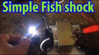 12V inverter stunfish   Fish shock Electric   strum ikan    How to make setrum ikan