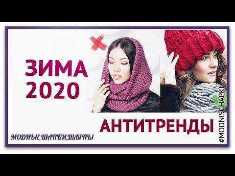Модные Шапки 2020 . АНТИТРЕНДЫ ЗИМЫ 2020.  Тренды 2020.  Антитренды 2020
