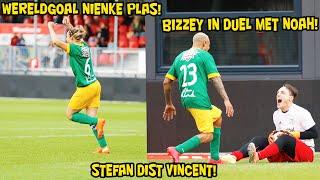 Wereldgoal Nienke Plas, Bizzey in duel met Noah, Stefan dist Vincent!