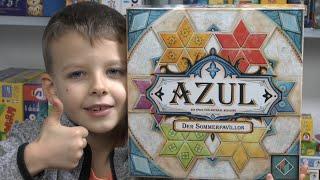 Azul - Der Sommerpavillon (Next Move / Pegasus Spiele) - Teil 2 mit gameplay