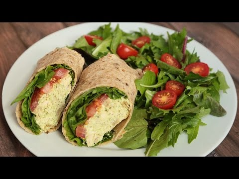 Video 3 Healthy Wrap Recipes | Back to School Lunch Ideas