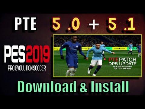 3cc4fac8f1f PES 2019 PTE Patch 5.0 + 5.1 Update (Data Pack 5 + 5.1)