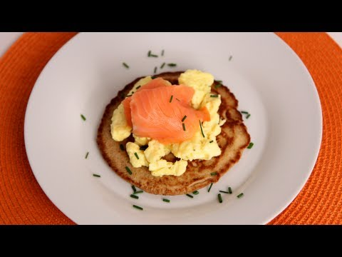Homemade Blinis with Smoked Salmon – Laura Vitale – Laura in the Kitchen Episode 532