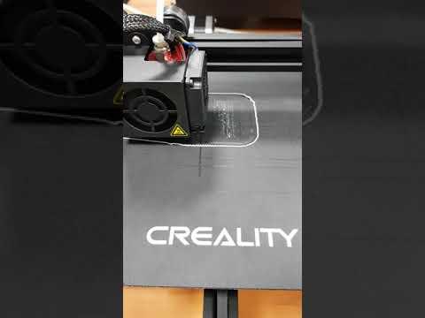 Second Ender 3D printer test
