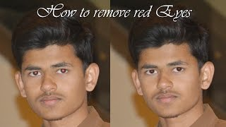 How To Remove Red Eye in Photoshop 7.0