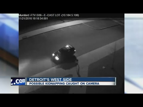 Possible kidnapping caught on camera