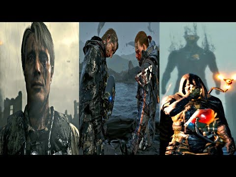Death Stranding - All Boss Fights (All Bosses) PS4 Pro