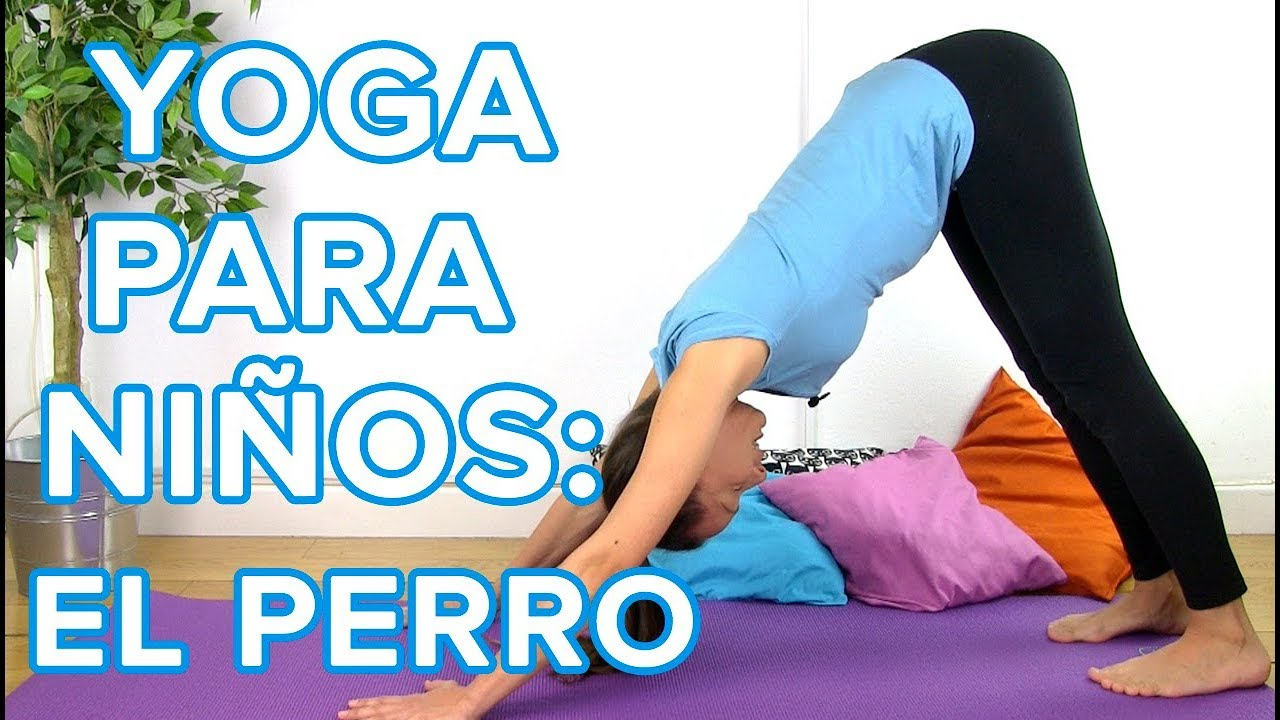 Yoga para niños: postura del perro boca abajo | Yoga infantil