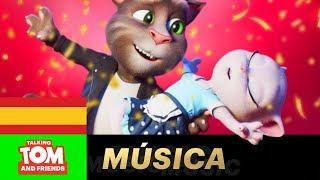 Tom y Angela - Stand by me (NUEVO vídeo musical presentada por TALKING TOM AND FRIENDS