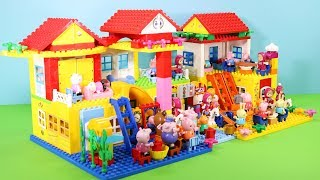 Peppa Pig Building Lego House Toys For Kids - Lego House Creations Toys #8