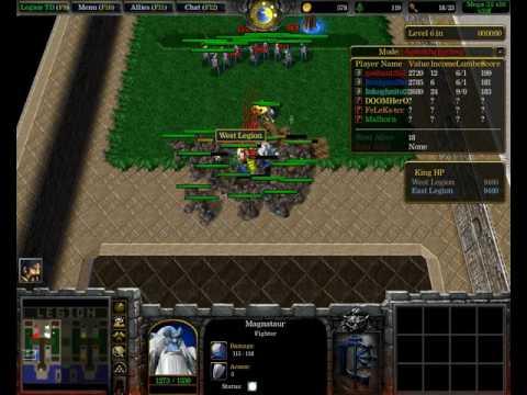 Раковые будни в Warcraft 3 (Легион ТД) #4 Изи вин