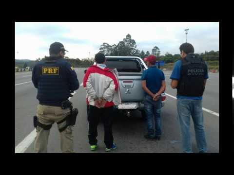PRF apreende revólver com queixa de roubo na Régis
