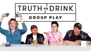 Lesbians Get Personal During a Game of Truth or Drink | Truth or Drink | Cut