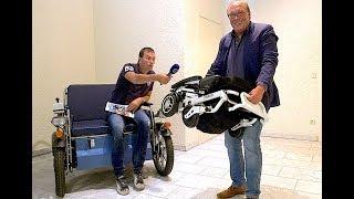 Elektrický invalidní vozík iTravel 1.054