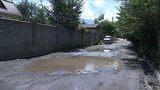 В Наурызбайском районе жители жалуются на качество дорог (08.07.16)
