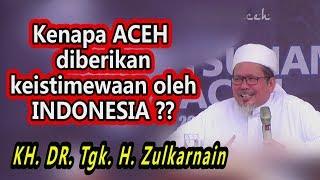 TERKAIT R3FER3NDUM ACEH, COBA DENGARKAN INI ! KH. Tengku Zulkarnain