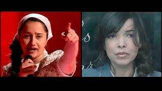 Раяна Асланбекова - Derniere Danse vs  Indila - Dernière Danse.