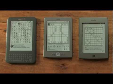 The Kindle Touch Can Recognise Your Handwriting