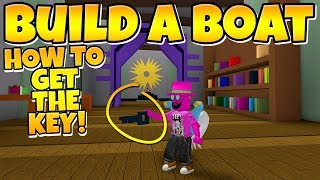Build a Boat HOW TO GET THE KEY!!!