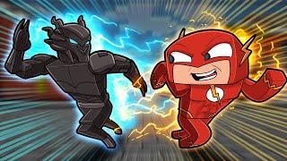 Flash Speedrunner vs Savitar HUNTER! (Minecraft)