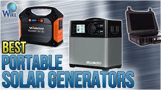 7 Best Portable Solar Generators 2018