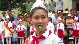 Duyệt Nghi thức Đội 2/9/2019 của Chi đội Võ Thị Sáu (Liên Hoa) Diễn Xuân, Diễn Châu, N. An  MVI 1160