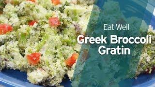 Recipe: Greek Broccoli Gratin