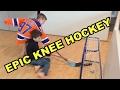 Kids Hockey Epic Knee Hockey Game Max jack Eichel V Car