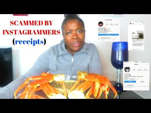 SEAFOOD BOIL MUK BANG (INSTAGRAM SCAMMERS EXPOSED)