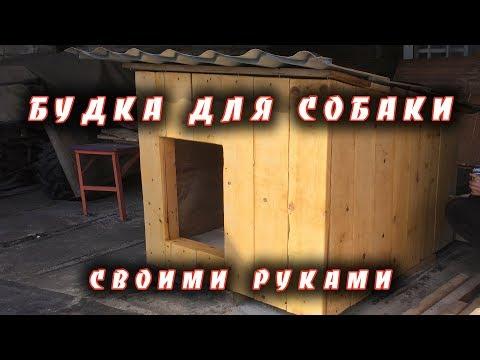 Теплая будка для собаки своими руками.