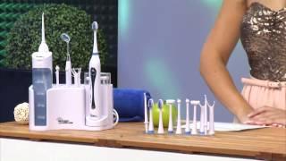 newgen medicals Elektrische Reise-Zahnbürste mit Batteriebetrieb