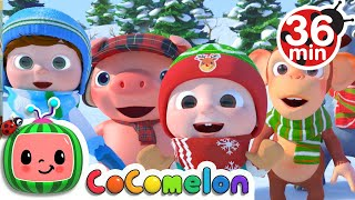 Christmas Songs For Kids + More Nursery Rhymes & Kids Songs - CoComelon - Download this Video in MP3, M4A, WEBM, MP4, 3GP