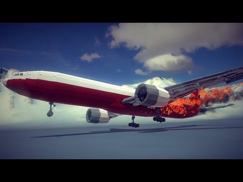 Failed Emergency Landings #2   Besiege