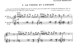 """Olivier Messiaen: """"La Nativité du Seigneur"""" [audio-score]"""