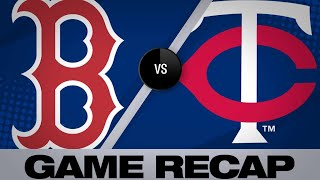 Kepler's walk-off wins it in the 17th | Red Sox-Twins Game Highlights 6/18/19