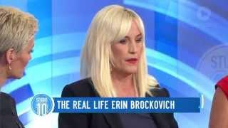 The Real Life Erin Brockovich | Studio 10 | Kholo.pk