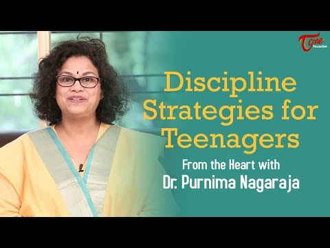 Discipline Srategies For Teenagers | Motivational Videos | By Dr Purnima Nagaraja