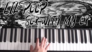 Lil Peep   Sex With My Ex   Piano Tutorial