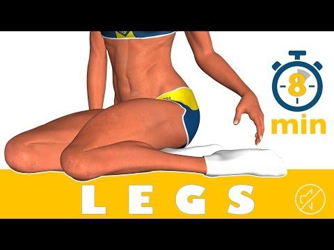 Les exercices pour le renforcement des veines sur le pied