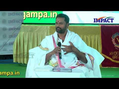 Thankfulness   Jagan Guruji   TELUGU IMPACT Hyd Apr 2018