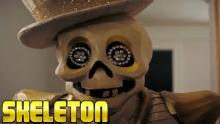 Masked Singer Skeleton performance | Rapper's Delight  | Season 2 Episode 1