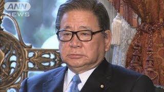 自見大臣が消費税法案閣議決定に署名国民新分裂12/03/30