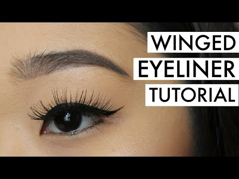 HOW TO: PERFECT WINGED EYELINER FOR MONOLIDS